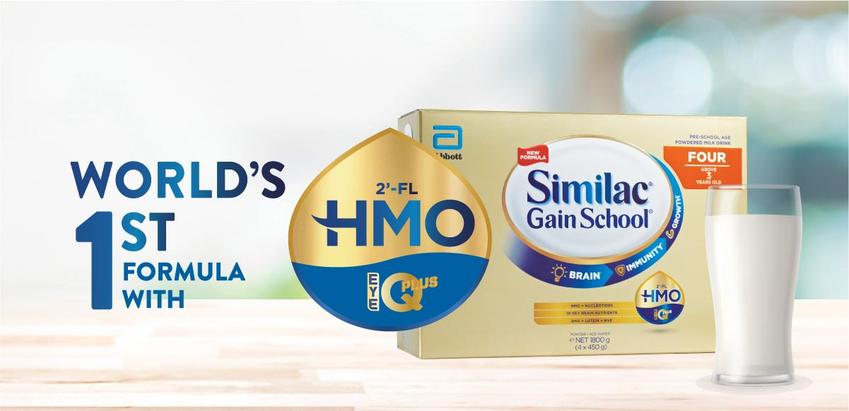 Similac - world's 1st formula with HMO and 10 key brain nutrients