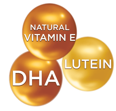 DHA-NVE-Lutein for faster learning