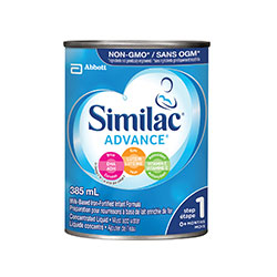 Similac® Advance® Step 1, 12x385 mL concentrated liquid
